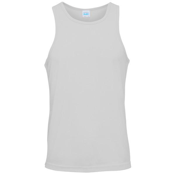 T-Shirts - HMS Dragon Embroidered Sports Vest