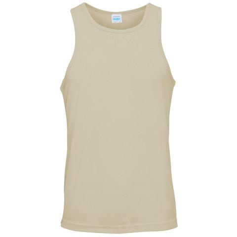 T-Shirts - HMS Glasgow Embroidered Sports Vest