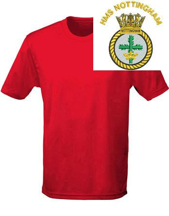 T-Shirts - HMS Nottingham Sports T-Shirt