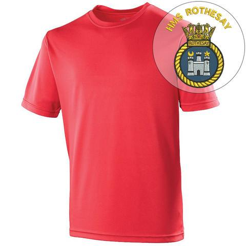 T-Shirts - HMS Rothesay Sports T-Shirt