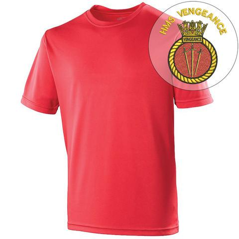 T-Shirts - HMS Vengeance Sports T-Shirt