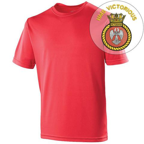 T-Shirts - HMS Victorious Sports T-Shirt