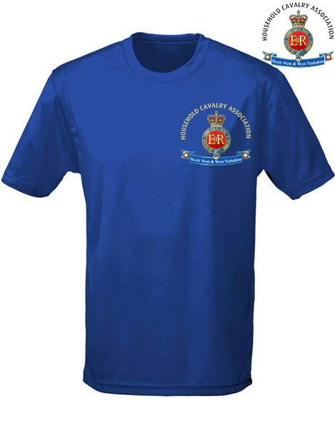 T-Shirts - Household Cavalry Association North West & West Yorkshire Sports T-Shirt