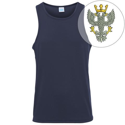 T-Shirts - Mercian Regiment Embroidered Sports Vest