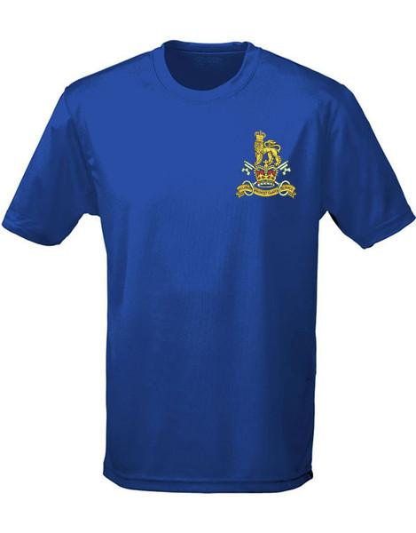 T-Shirts - Military Provost Guard Service Embroidered Sports T-Shirt