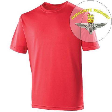 T-Shirts - Parachute Regiment Sports T-Shirt