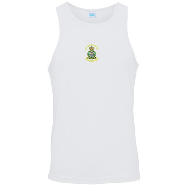 T-Shirts - RAF 617 Squadron (Dambusters) Embroidered Sports Vest