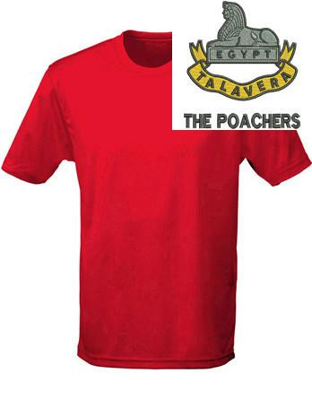 T-Shirts - Royal Anglian 2nd Battalion 'The Poachers' Sports T-Shirt