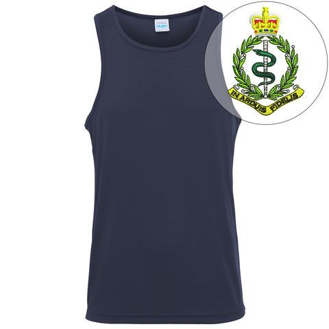 T-Shirts - Royal Army Medical Corps Embroidered Sports Vest