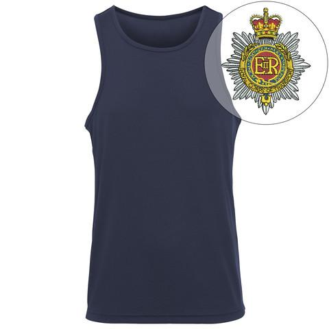 T-Shirts - Royal Corps Transport Embroidered Sports Vest