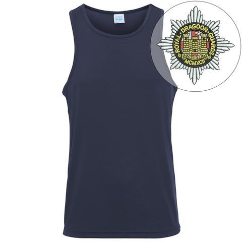 T-Shirts - Royal Dragoon Guards Embroidered Sports Vest