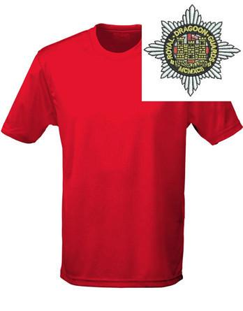 T-Shirts - Royal Dragoon Guards Sports T-Shirt
