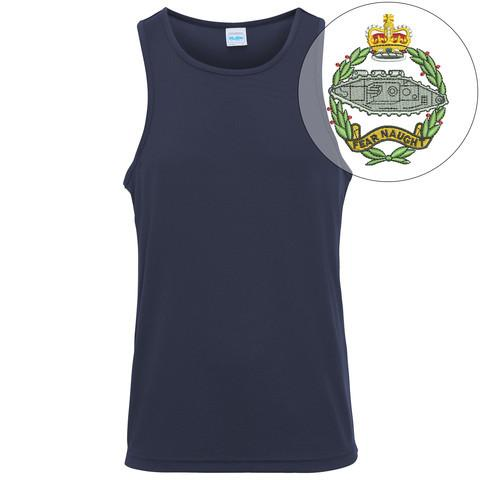 T-Shirts - Royal Tank Regiment Embroidered Sports Vest