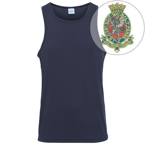 T-Shirts - Royal Wessex Yeomanry Embroidered Sports Vest