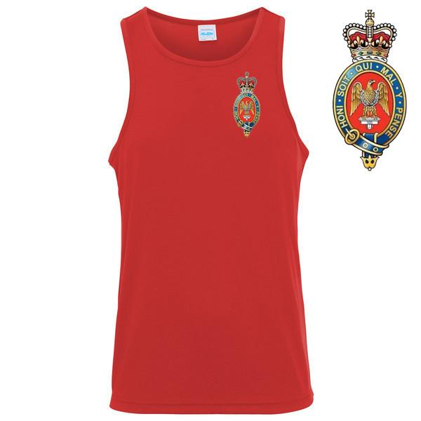 T-Shirts - The Blues & Royals Embroidered Sports Vest