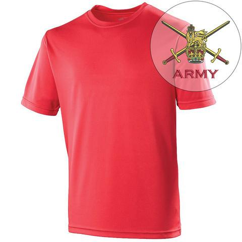 T-Shirts - The British Army Sports T-Shirt