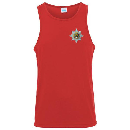 T-Shirts - The Irish Guards Embroidered Sports Vest