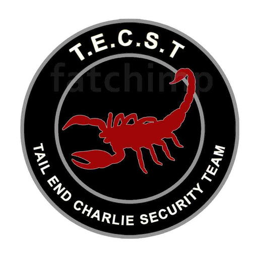 Tail End Charlie Security Team Patch