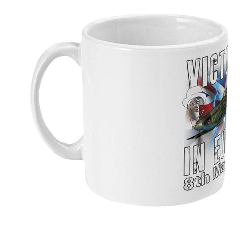 VICTORY IN EUROPE 75 Commemorative Ceramic Mug