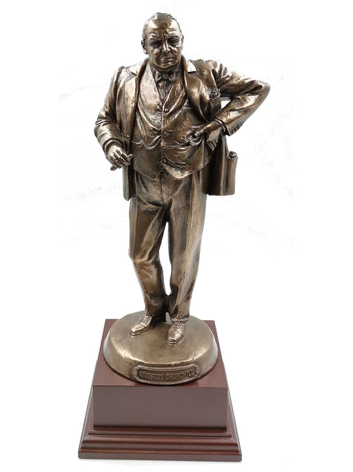 Winston Churchill Cold Cast Bronze Statue
