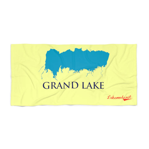 Beach Towel Grand Lake