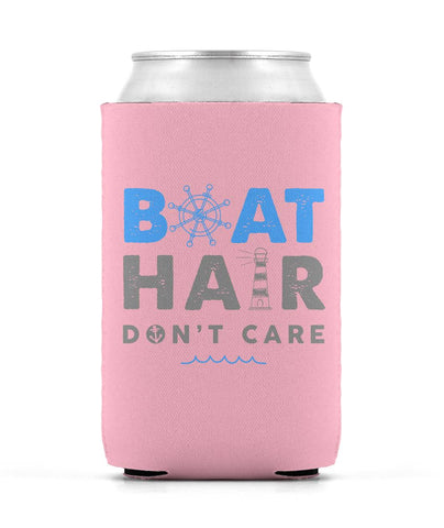 Boat Hair Don't Care Koozie