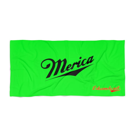 Merica Beach Towel