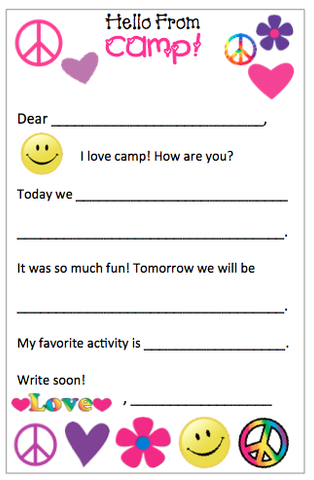 "Personalized ""Fill in the blank"" Peace, Love and Happiness notepads"