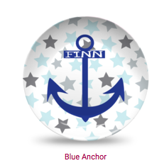 Personalized Plate - Anchor