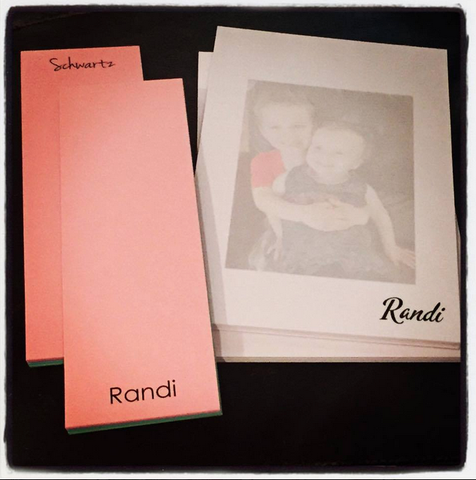 Personalized Notepads w/ Faded Pictures
