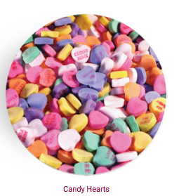Personalized Plate - Conversation Hearts