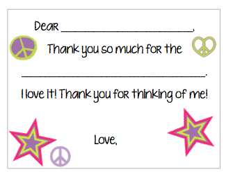 Fill-in-the-Blank Thank You Notes - Stars V3