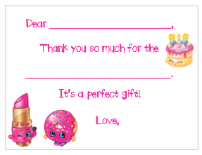 Fill-in-the-Blank Thank You Notes - Shopkins V3