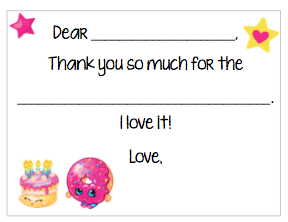Fill-in-the-Blank Thank You Notes - Shopkins V2