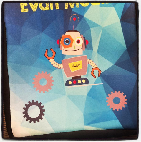 iPad Case - Robot