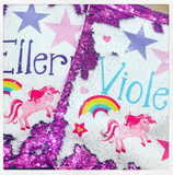 Flip Sequin Drawstring Bag
