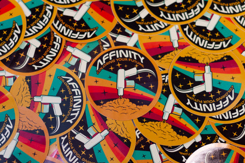 "Affinity Vintage ""NASA"" Decal"