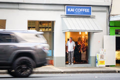 Kai Coffee Hawaii downtown bakery cafe storefront