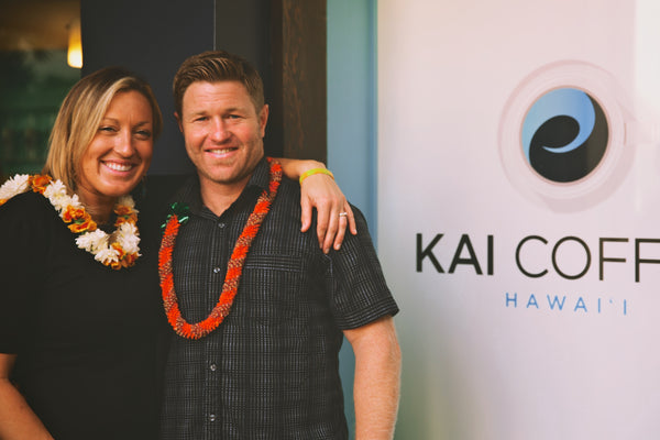 Kai Coffee Hawaii Owners Sam Suiter and Natalie Suiter