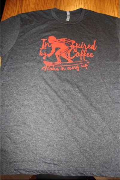 Inspired By Coffee Men's T-shirt