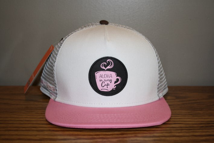 Pink Snap Back Hat