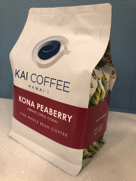 100% Kona Peaberry 12oz or 7oz