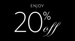 20% OFF YOUR FIRST ORDER WHEN YOU SUBSCRIBE