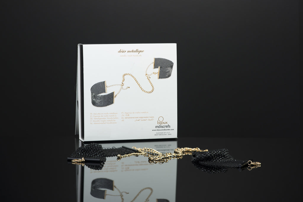 Black Handcuffs by Bijoux Indiscrets