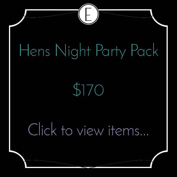 Hens Night Party Pack