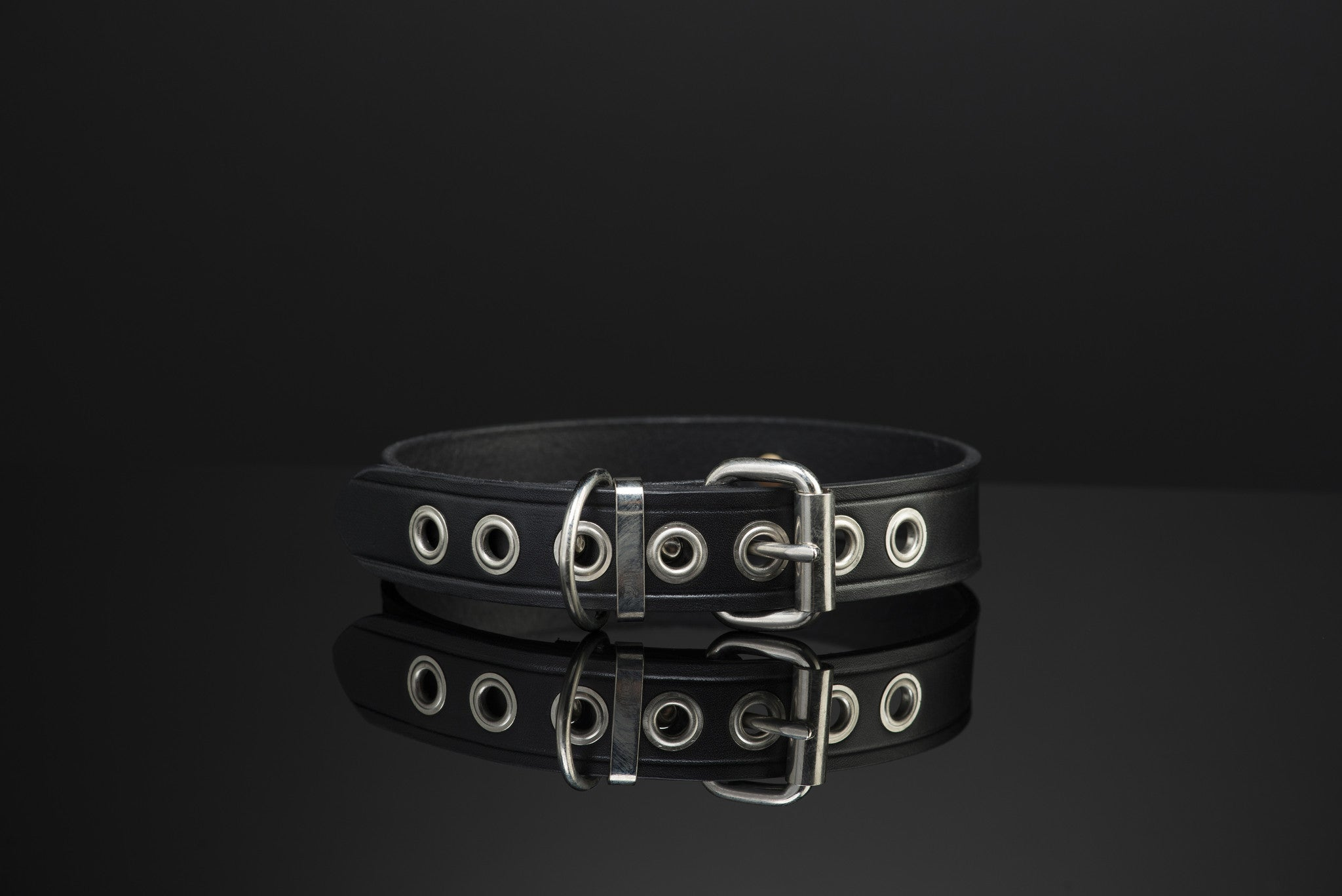 Leather Collar by SAX