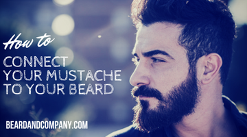 How to Connect Your Mustache to Your Beard
