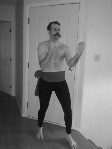 Manliest Man in the World costume