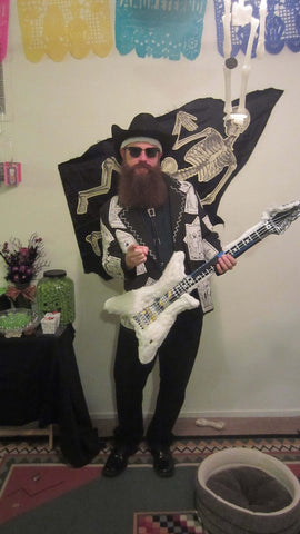 Billy Gibbons ZZ Top costume