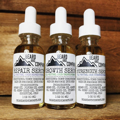 formulated beard oil